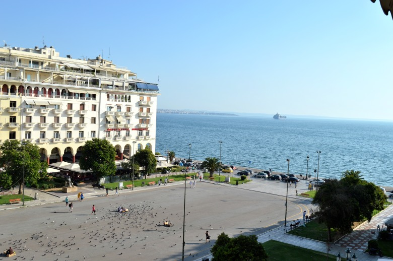 View of Aristotelous Square, Thessaloniki.