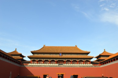 The Forbidden City, Beijing.