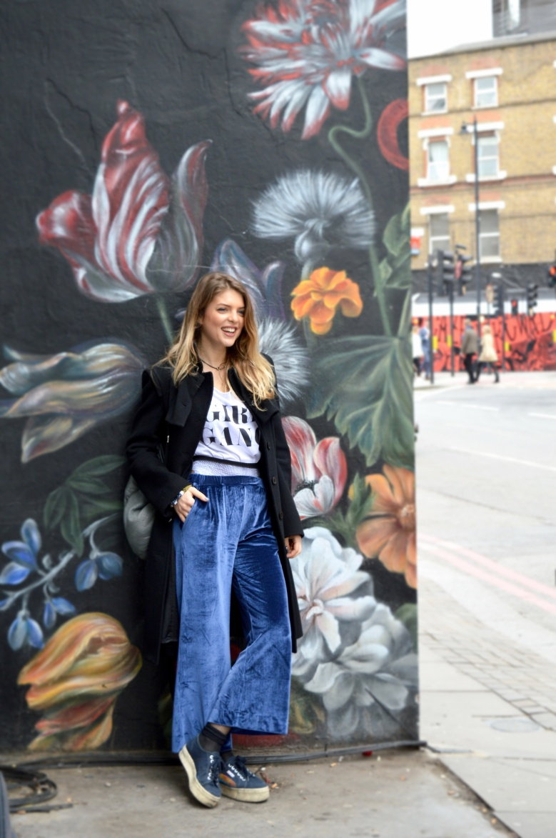 My outfit in Shoreditch, London
