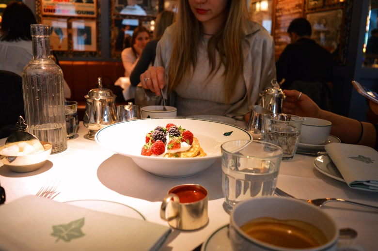 The Ivy Cafe in Marylebone