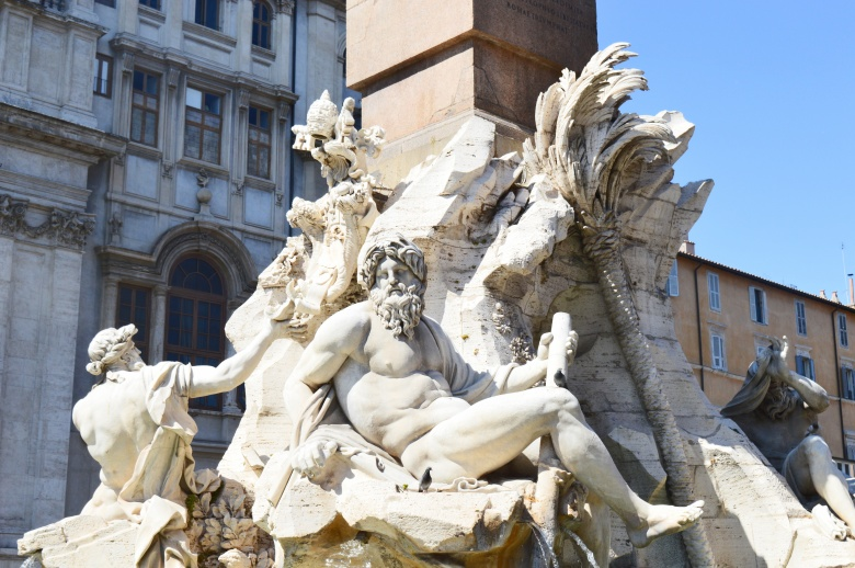 Sculptures in Rome
