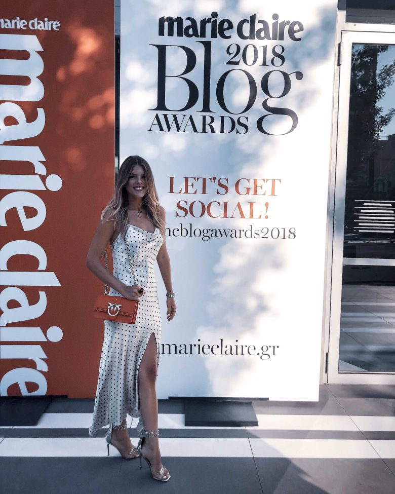 My nomination at Marie Claire Blog Awards